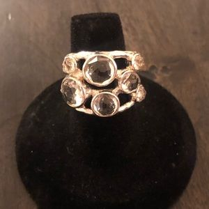 IPPOLITA Clear Quartz Ring Size 7
